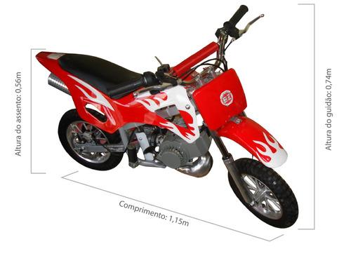 Mini Moto Cross 49cc Infantil Bz Fire Barzi Motors