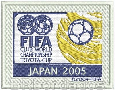 Tpc036 Mundial Japão 2005 São Paulo Patch Bordado 9,5x7,5 Cm
