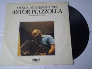 Lp Astor Piazzolla - Musica De Buenos Aires