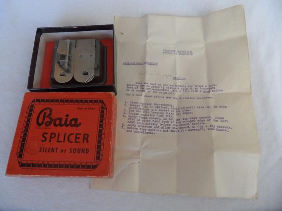 Editor Baia Splicer De Peliculas De 8 Mm Y 16 Mm Vintage