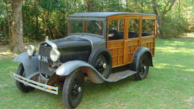 Ford Woody Station Wagon 1930
