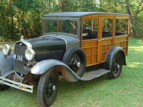Ford Woody 30-permuto X Propiedad,pago Diferencia Contado