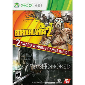 Jogos Borderlands 2 E Dishonored Para Xbox 360 Ntsc