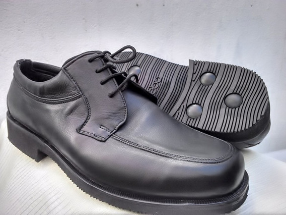 Calzado Artesanal Hombre: Cuero Goma Febo Con O Sin Cordones