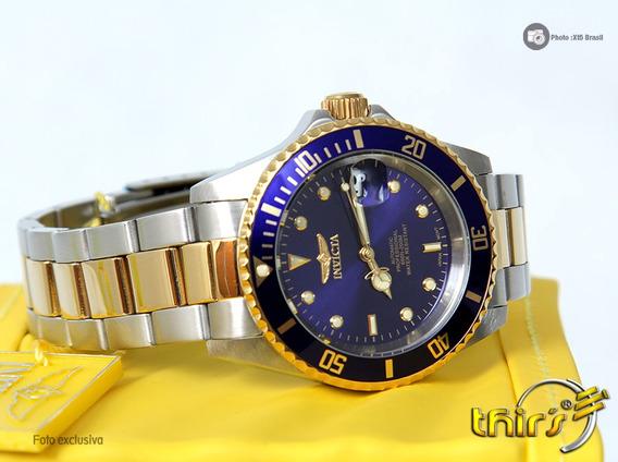 Invicta Automatico 8928ob Duo Color Original Lindo 12x