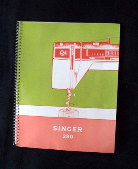 Singer 290 Manual Maquina Costura Propaganda Antiga