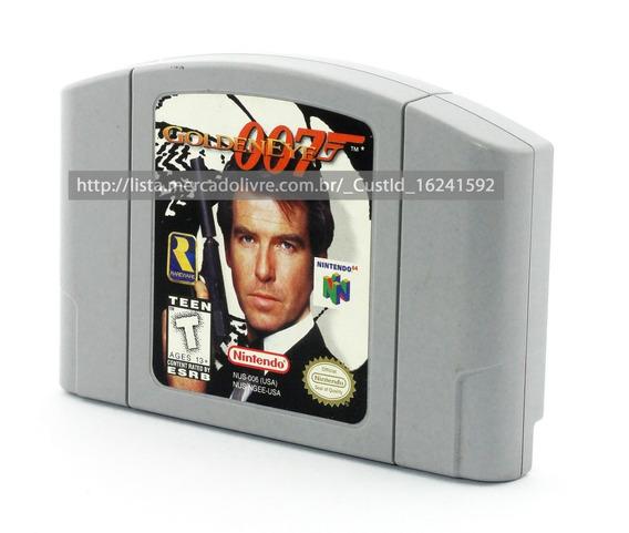 Fita 007 Goldeneye - Nintendo 64