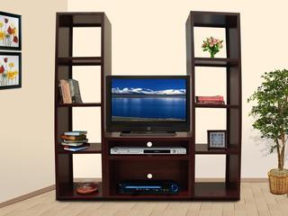 Centro De Entretenimiento, Tv, Librero, Muebles El Angel
