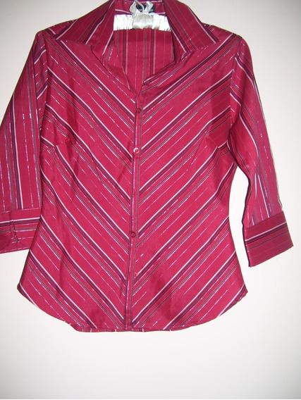 Camisa Marca Express Talle S Elastizada