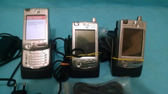 Computador De Bolso Pocket Pc Poz Lote Com 3 Aparelhos