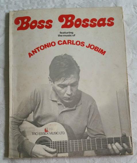 Partitura - Boss Bossas - Diversas Músicas (com Tom Jobim)