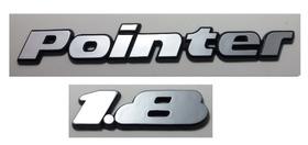 Kit Emblemas Volkswagen Pointer 1.8 91 92 93 94 À 97 Brinde