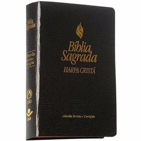 Bíblia Sagrada E Harpa Cristã A.r.c Preta