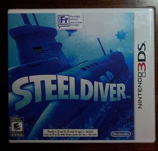 Steel Diver Sellado - 3ds - Wario Store