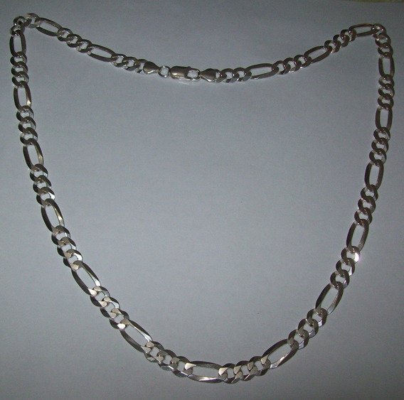 Corrente Masculina Em Prata 925 Italiana 60cm 32gramas