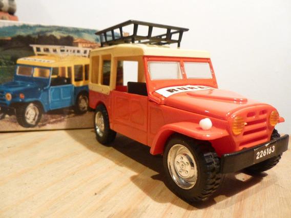 Antiguo Auto Fiat Camp Rurale, Gorgo,nuevo,en Caja,plastico