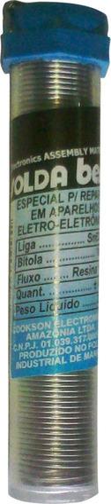 Tubinho De Solda Best Sn63/37 1mm Pl25gr