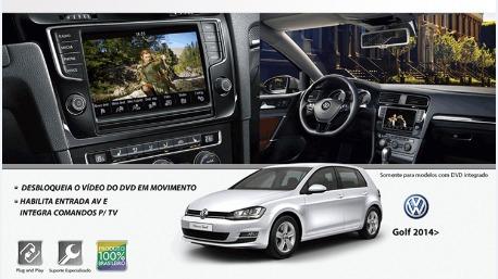 Desbloqueio Dvd Novo Golf, Tv Digital, Central Multimidia