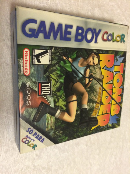 Tomb Raider Estrelando Lara Croft (game Boy Color, 1998)novo