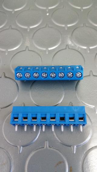 4 Conectores Bloque De 8 Terminales De Tornillo