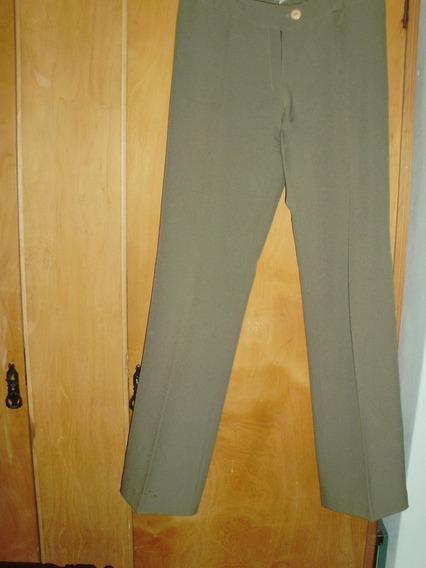 Pantalon De Vestir Verde Clarito