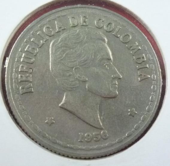 Colombia Moneda 20 Centavos 1956