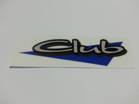Emblema Adesivo Club Parati