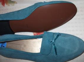 Zapatos Casuales, Nuevos, Color Azul Turquesa, Jillian Jones