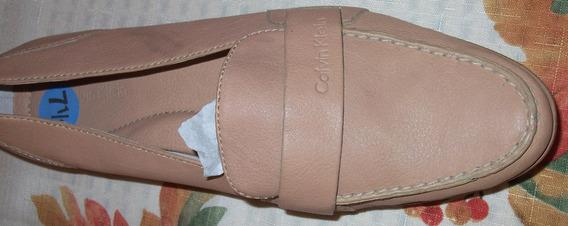 Zapatos Casuales, Nuevos, Color Café, Mujer, Calvin Klein,