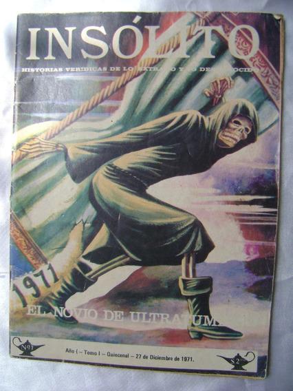 D4 Revista Insolito Numero 7 Dic 1971- Coleccionistas