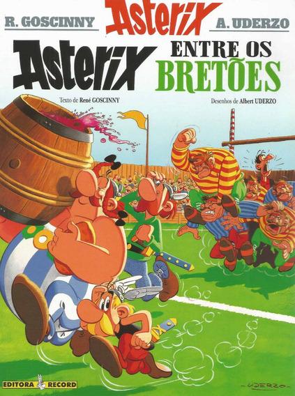 Asterix 08 Entre Os Bretoes - Record Bonellihq Cx93 G19