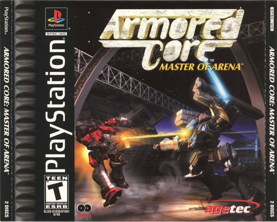 Armored Core Master Of Arena - Psx - 2 Discos Playstation 1