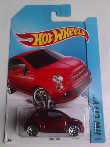 Fiat 500 Hot Wheels 2014 ¿ Novo Lacrado