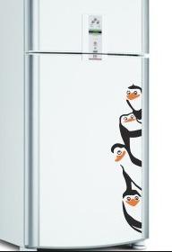 Lindos Adesivos Para Geladeira - Pinguim