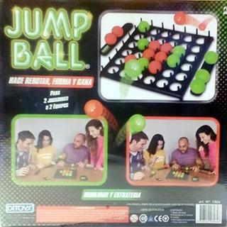 Jump Ball Juego Mesa Estrategia Y Habilidad Original Ditoys
