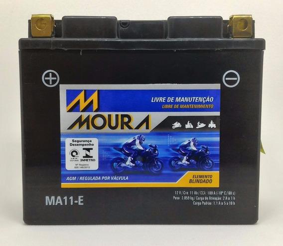 Bateria Moto Moura Yt12b-bs / Ma11-e Yamaha Xj-6 Srx/fz6/r6
