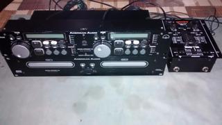 Compactera Doble American Audio