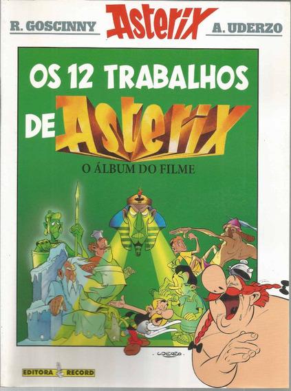 Os 12 Trabalhos De Asterix - Record - Bonellihq Cx93 G19