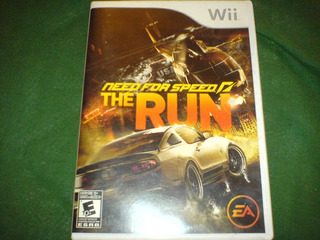 Ned For Speed The Run De Wii Entretenido Juego Mn4