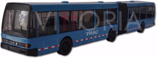 Bus Mio Servicio Articulado Metalico Maisto Original Nuevo
