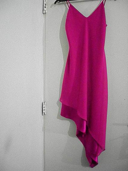 Vestido Fiesta Vestir Fucsia Ts 38-40 Imperdible Regalo