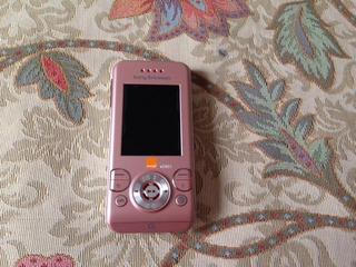 Pedido Sony Ericsson W580 Color Rosado Libre De Fabrica