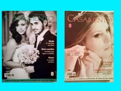 Revistas Noivas E Casamentos São Paulo Luxo 2 Vol. 2013.
