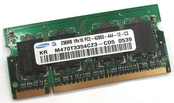 Memoria Ram 256 Mb Pc2 4200s Ddr2 Varias Marcas 256pc24200-s