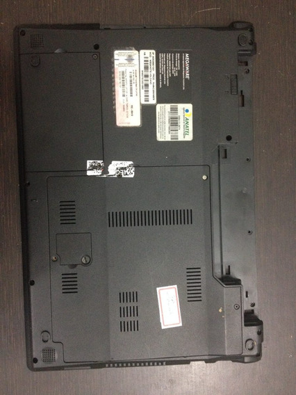 Carcaça Parte De Baixo Notebook Megaware Volcano I5
