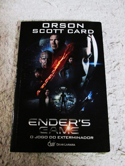 Livro Ender´s Game/ O Jogo Do Exterminador/capa Dura/portug