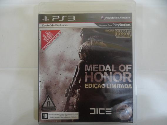 Medal Of Honor Edição Limitada - Ps3 - Completo!