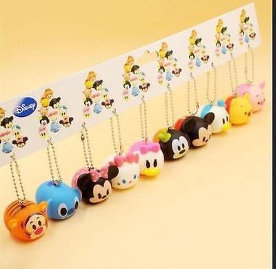 Bichinhos Plástico Tsum Para Bebês Cartela 10 Modelos Disney