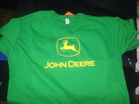 Remera Estampada John Deere + Calco De Regalo