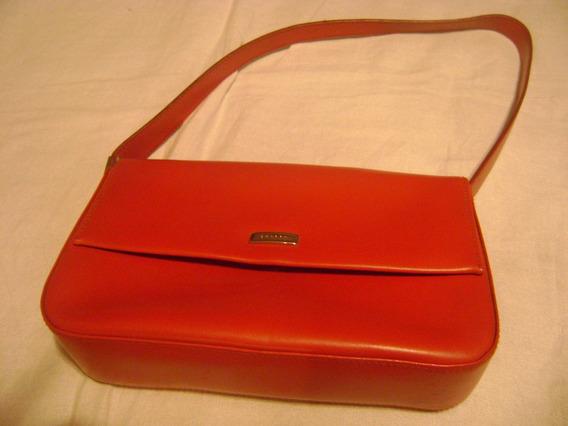 Cartera Importada Color Rojo, Marca Cherry, Ecocuero